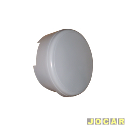 Capa de estepe - Baja - CrossFox - de fibra - para pintar - sem emblema VW - cada (unidade) - 200151