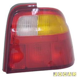 Lanterna traseira - alternativo - Acrilux - Logus 1993 até 1997 - lado do passageiro - cada (unidade) - 1099-D