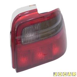 Lanterna traseira - alternativo - Acrilux - Logus 1993 at� 1997 - fum� - lado do passageiro - cada (unidade) - 1199-D