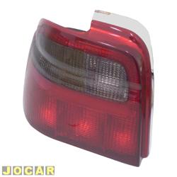 Lanterna traseira - alternativo - Acrilux - Logus  -  1993 at� 1997 - fum� - lado do motorista - cada (unidade) - 1199-E