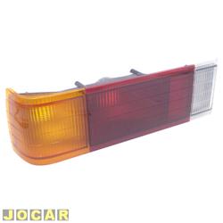 Lanterna traseira - alternativo - Opala 1985 até 1987 - tricolor - lado do motorista - cada (unidade)