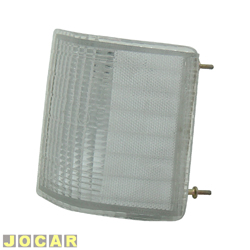 Lanterna dianteira - alternativo - Artmold - Opala 1980 até 1987 - A20/C20/D20 1985 até 1992 - cristal (branca) - lado do motorista - cada (unidade) - 1015