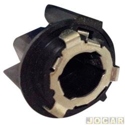 Soquete da lanterna traseira - alternativo - Opala 1969 até 1992 - 2 polos - cada (unidade)