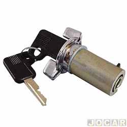 Cilindro da chave do contato - alternativo - Opala/Caravan 1976 até 1992 - D20/Veraveio 1985 em diante - apenas veiculos com ignição na barra de direção - cada (unidade)