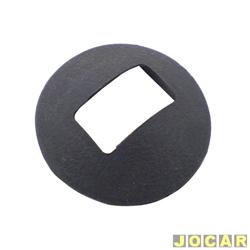 Anel da maçaneta de vidro - alternativo - Opala/Caravan 1969 até 1984 - Chevett 1973 até 1982 - preto - cada (unidade)