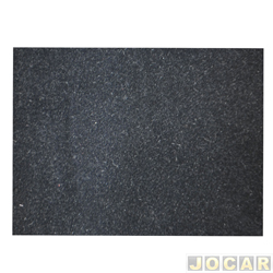 Forração do teto (tapeçaria) - Opala 1985 até 1987 - veludo preto - 2 portas - jogo