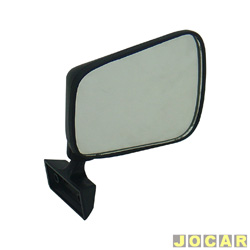 Retrovisor externo - alternativo - Chevette 1980 at� 1984 - lado do passageiro - cada (unidade)