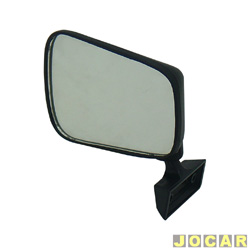 Retrovisor externo - Alternativo - Chevette 1980 at� 1984 - lado do motorista - cada (unidade)