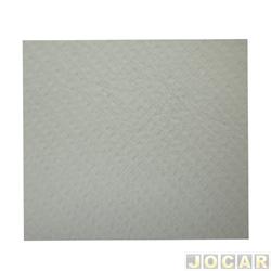 Forração do teto (tapeçaria) - alternativo - Opala 1976 até 1985 - 4 portas - branca - jogo