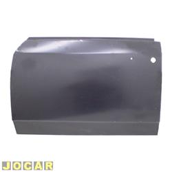 Folha de porta - alternativo - Centauro - Opala 1969 até 1984 - dianteira - 4 portas - para pintar - lado do motorista - cada (unidade) - 45505