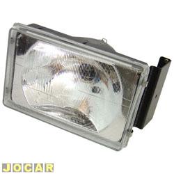 Farol - alternativo - Orgus - Opala Comodoro 1980 até 1987 - D-20 1980 até 1992 - bi-iodo - H4 - lado do motorista - cada (unidade) - FG-51LE