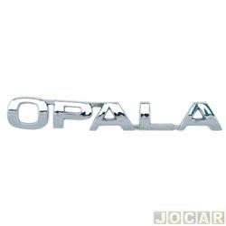 Letreiro - alternativo - Opala 1975 até 1992 - Opala - auto colante - cromado - cada (unidade)