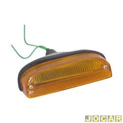 Lanterna dianteira - alternativo - Chevette/Marajó 1973 até 1982 - âmbar (amarela) - cada (unidade)