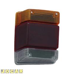 Lanterna traseira - alternativo - JCV Lanternas - Marajó 1983 até 1989 - Chevy 1983 até 1993 - tricolor - lado do motorista - cada (unidade) - 1527.12