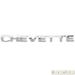 Letreiro - alternativo - Chevette 1979 até 1993 - Chevette - cromado - cada (unidade)