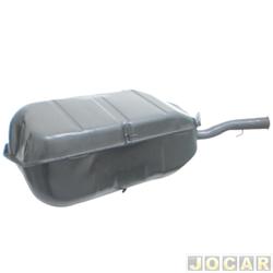 Tanque de combustível - alternativo - Igasa - Chevette 1990 até 1992   - 58L - boia de encaixe - gargalo de rosca - cada (unidade) - 3176-A