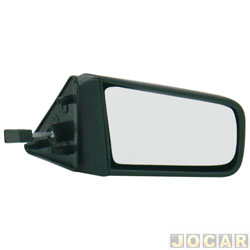 Retrovisor externo - alternativo - Retrovex - Chevette/Chevy/Maraj� - 1987 at� 1995 - com controle manual - preto - lado do passageiro - cada (unidade) - 21876
