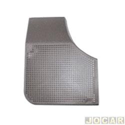 Tela do alto-falante - alternativo - Monza 1991 até 1996 - porta dianteira - cinza - lado do motorista - cada (unidade)