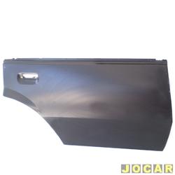 Folha de porta - alternativo - Monza - 1982 até 1996  - para pintar - traseiro - lado do passageiro - cada (unidade)