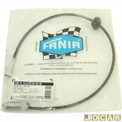 Cabo do veloc�metro - F�nia - Monza 1992 at� 1996 - c�mbio manual - sem computador de bordo - 840 mm - cada (unidade) - 30-314