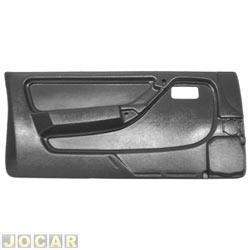 Revestimento de porta - alternativo - Monza 1991 até 1996 - 2 portas - preto - lado do motorista - cada (unidade)