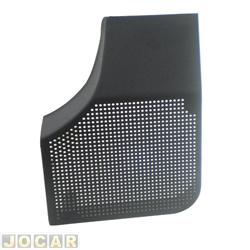 Tela do alto-falante - alternativo - Monza 1991 até 1996 - porta dianteira - preta - lado do motorista - cada (unidade)