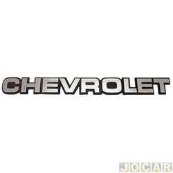 Letreiro - alternativo - A20/C20/D20/Bonanza/Veraneio - Chevrolet - grande - cola - cada (unidade)