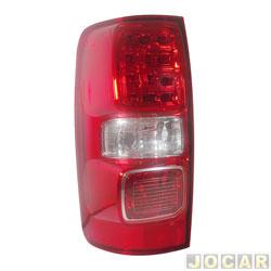 Lanterna traseira - Arteb - S10 2012 até 2016 - com led - sem ré - com luz de neblina  - lado do motorista - cada (unidade) - 460445