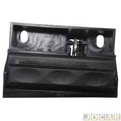 Botão do porta-luvas - alternativo - S10/Blazer 1995 até 2000 - sem chave - cada (unidade)