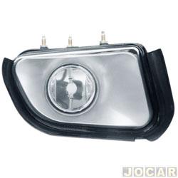 Farol de milha - importado - S10/Blazer 2001 até 2011 - modelo valeo - H3 - lado do passageiro - cada (unidade) - ZN1414550