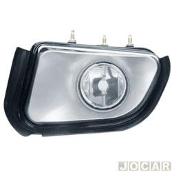 Farol de milha - importado - S10/Blazer 2001 até 2011 - modelo valeo - H3 - lado do motorista - cada (unidade) - ZN1414551