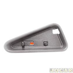 Pino da trava da porta - S10/Blazer 1995 até 2011 - moldura larga - cinza - lado do passageiro - cada (unidade)
