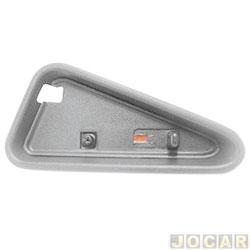 Pino da trava da porta - S10/Blazer 1995 até 2011 - moldura larga - cinza - lado do motorista - cada (unidade)