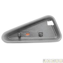 Pino da trava da porta - S10/Blazer 1995 até 2011 - moldura larga - grafite - lado do passageiro - cada (unidade)