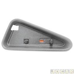 Pino da trava da porta - S10/Blazer 1995 até 2011 - S10 - moldura larga - grafite - lado do motorista - cada (unidade)
