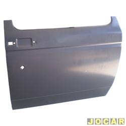Folha de porta - alternativo - A20/C20/D20 - 1985 até 1992 - para pintar - lado do passageiro - cada (unidade)