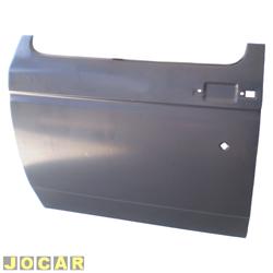 Folha de porta - alternativo - A20/C20/D20 - 1985 até 1992 - para pintar - lado do motorista - cada (unidade)