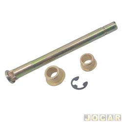 Pino da dobradiça da porta - alternativo - S10 - 1995 até 2011 - cada (unidade)