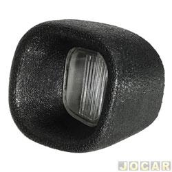 Lanterna da placa - alternativo - S-10 - 2001 até 2011 - lado do passageiro - cada (unidade)