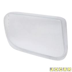 Lente do farol de milha - alternativo - S10/Blazer - 2001 até 2011 - vidro - lado do passageiro - cada (unidade)