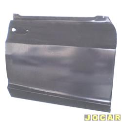 Folha de porta - alternativo - A-10/C-10/D-10 - até 1984 - Veraneio até 1988 - para pintar - lado do passageiro - cada (unidade)