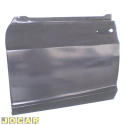 Folha de porta - alternativo - A-10/C-10/D-10 - até 1984 - Veraneio até 1988 - para pintar - lado do motorista - cada (unidade)
