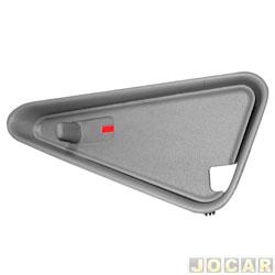 Pino da trava da porta - S10/Blazer 1995 até 2011 - com moldura - cinza - lado do motorista - cada (unidade)