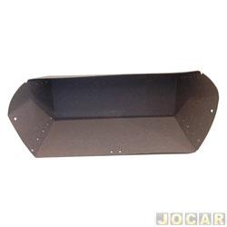 Caixa do porta-luvas - alternativo - D10  - preta - cada (unidade)