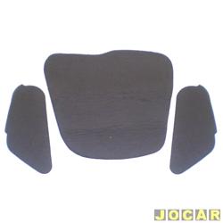 Anti-ruído do capô - Toroflex / Vibrac System - Corsa - 1994 até 2002 - auto-adesivo - preto - jogo - 00874
