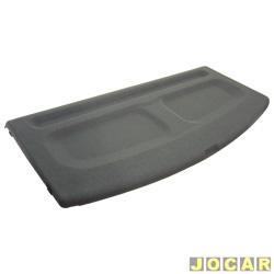 Tampão do porta-malas - alternativo - Corsa 1994 até 2002 2 portas - cinza - cada (unidade)