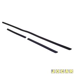 Protetor do para-choque - Astra 1999 até 2002 - preto - jogo