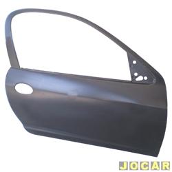 Folha de porta - Original Chevrolet - Celta 2000 em diante  - 2p - para pintar - lado do passageiro - cada (unidade) - 93327317