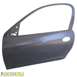 Folha de porta - Original Chevrolet - Celta 2000 em diante - 2p - para pintar - lado do motorista - cada (unidade) - 93327316