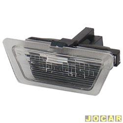 Lanterna da placa - Astra 1999 até 2002 - cada (unidade)
